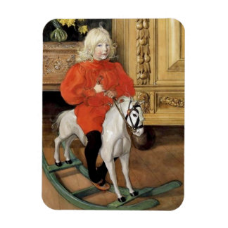 Lucia Day Rocking Horse Magnet