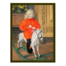 Lucia Day Rockinghorse Postcard