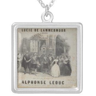 Lucía de Lammermoor' de Gaetano Donizetti Collar Plateado