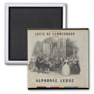 Lucía de Lammermoor' de Gaetano Donizetti Imán Cuadrado