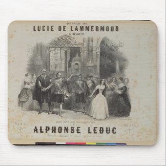 Lucía de Lammermoor' de Gaetano Donizetti Mousepad