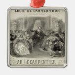 Lucía de Lammermoor' la ópera Ornamento De Reyes Magos
