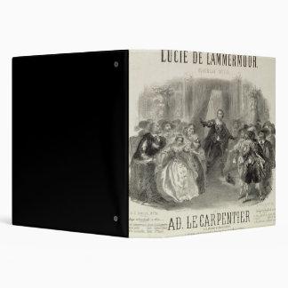 Lucia de Lammermoor' the opera 3 Ring Binder