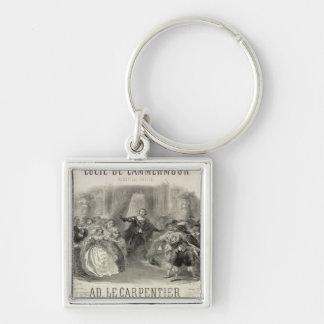 Lucia de Lammermoor' the opera Keychain