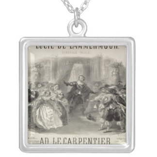 Lucia de Lammermoor' the opera Silver Plated Necklace