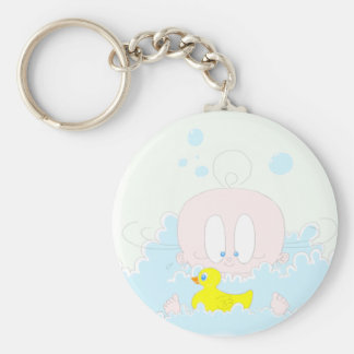 Lucia in Bubbles Keychain