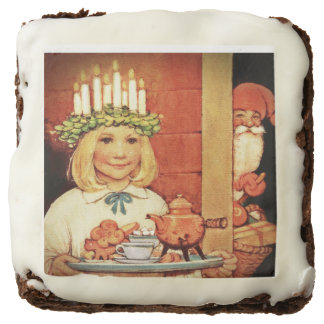 Lucia Karin and the Nisse Chocolate Brownie
