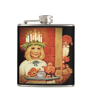 Lucia Karin and the Nisse Hip Flask