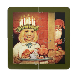 Lucia Karin and the Nisse Puzzle Coaster