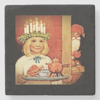 Lucia Karin and the Nisse Stone Coaster