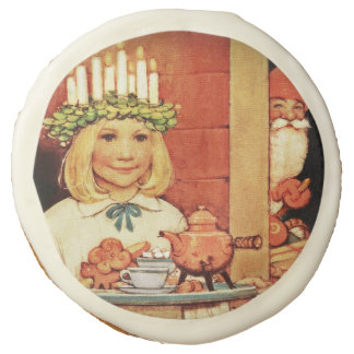 Lucia Karin and the Nisse Sugar Cookie