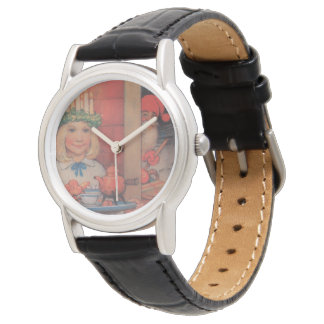 Lucia Karin and the Nisse Wristwatch