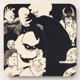 Lucian s Strange Creatures illustration from Luc Drink Coaster