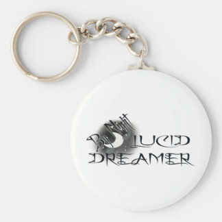 Lucid Dreamer by Night Keychain