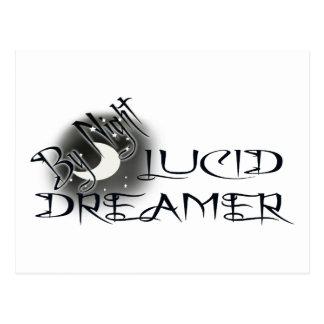 Lucid Dreamer by Night Postcard