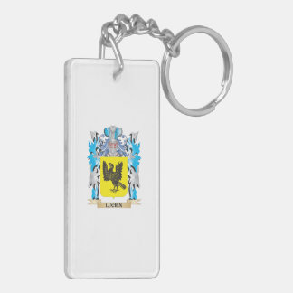 Lucien Coat of Arms - Family Crest Acrylic Key Chain