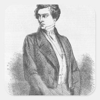 Lucien de Rubempre Square Sticker