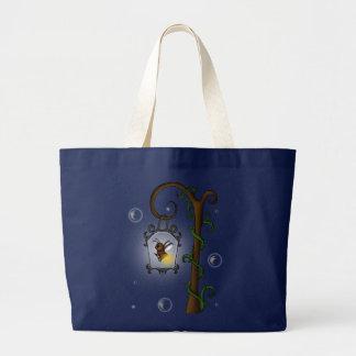 luciérnaga linda bolsa tela grande