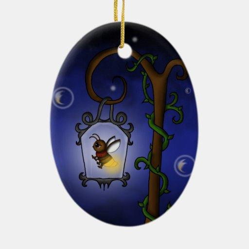 luciérnaga linda ornamento para arbol de navidad