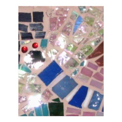 """Luciérnagas del mosaico folleto 8.5"""" x 11"""""""