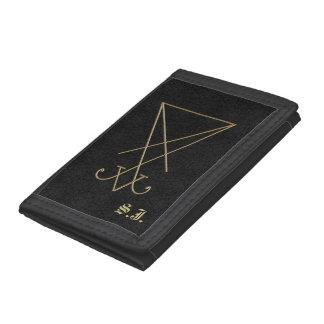 Lucifer Alchemy Sigil Gothic Art Trifold Wallet