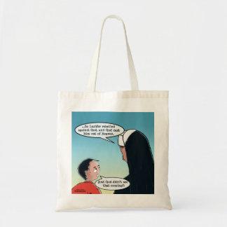 Lucifer Cast Out Budget Tote Bag