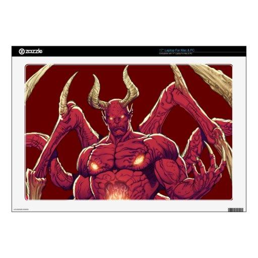 Lucifer el diablo, el príncipe de la oscuridad, Sa Calcomanía Para 43,2cm Portátil