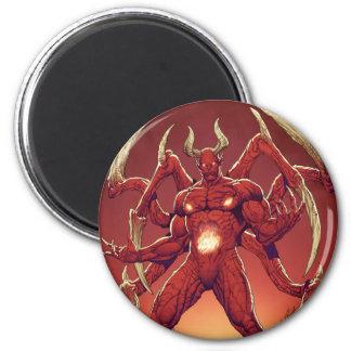 Lucifer el diablo el príncipe de la oscuridad Sa Imán De Frigorifico