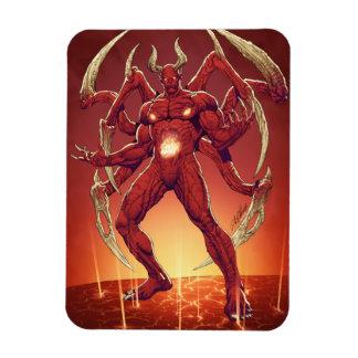 Lucifer el diablo el príncipe de la oscuridad Sa Imán De Vinilo