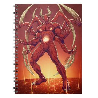 Lucifer el diablo, el príncipe de la oscuridad, Sa Libro De Apuntes Con Espiral