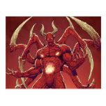 Lucifer el diablo, el príncipe de la oscuridad, Sa Postales