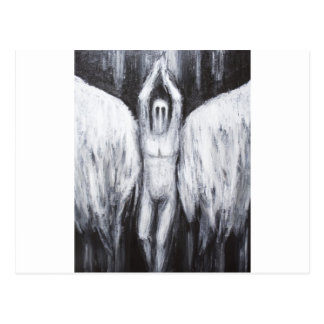 Lucifer el lucero del alba que desciende al abismo postal