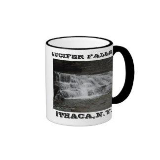 LUCIFER FALLS, ITHACA,N.Y.mug Ringer Coffee Mug