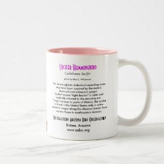 Lucifer Hummingbird Mug, left-handled