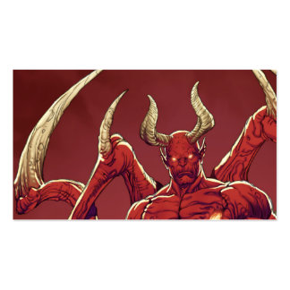 Lucifer the Devil, the Prince of Darkness, Satan Business Card