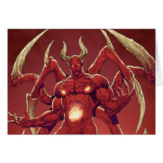 Lucifer the Devil the Prince of Darkness Satan Greeting Card
