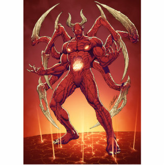 Lucifer the Devil, the Prince of Darkness, Satan Cutout