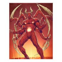 lucifer,devil,prince of darkness,satan,al rio,thomas mason,art,drawing,hell, Flyer with custom graphic design