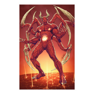 Lucifer the Devil, the Prince of Darkness, Satan Custom Flyer
