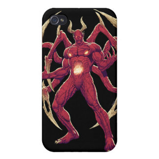 Lucifer the Devil, the Prince of Darkness, Satan iPhone 4 Covers