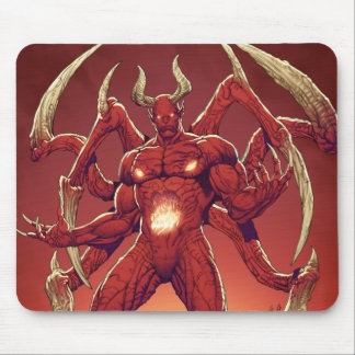 Lucifer the Devil, the Prince of Darkness, Satan Mouse Pad