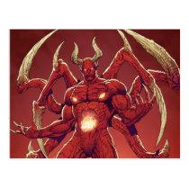 lucifer,devil,prince of darkness,satan,al rio,thomas mason,art,drawing,hell, Cartão postal com design gráfico personalizado