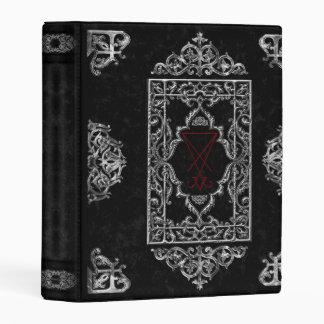 Luciferian Occult Goth Book Of Shadows Mini Binder