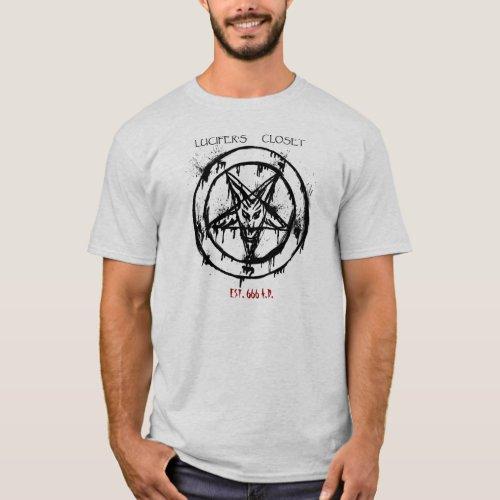 Lucifers Closet EST 666 AD Shirt