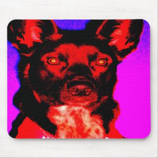 Lucifurr el perro del Dingo Tapetes De Ratón