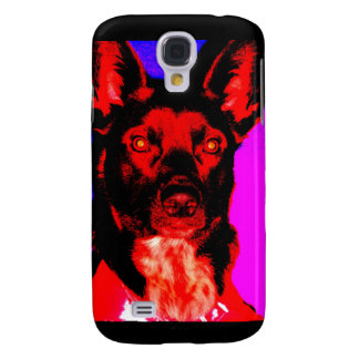 Lucifurr the Dingo Dog Samsung Galaxy S4 Case