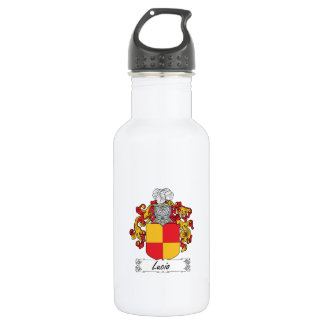 Lucio Family Crest Water Bottle