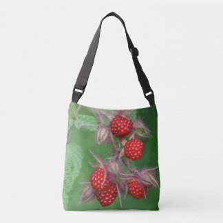 Lucious Raspberry Crossbody Bag