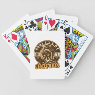 Lucius, a famous Roman Centurion Bicycle Playing Cards