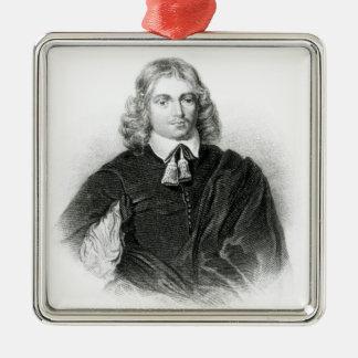 Lucius Carey  illustration Metal Ornament
